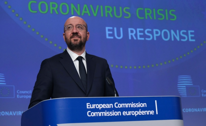 EU leaders agree 1.8 trillion euro fiscal package to keep worst-hit countriesafloat